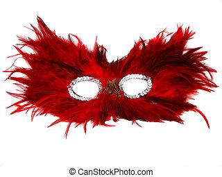 mask - isolated masquerade mask