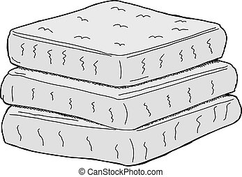 Isolated Mattresses