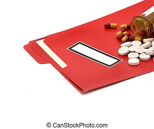 file and pills