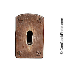 Isolated Metal Keyhole