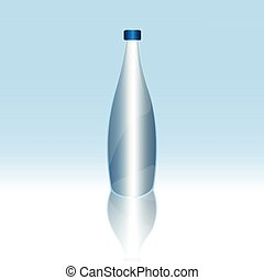 Isolated minteral water bottle