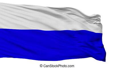 Isolated Mlada Boleslav city flag, Czech Republic - Mlada...