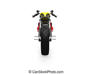 isolated moto front view 03
