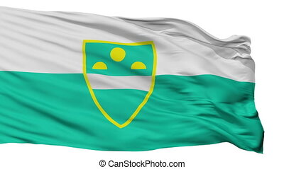 Isolated MS city flag, Slovenia - MS flag, city of Slovenia...