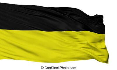 Isolated Munich city flag, Grenada