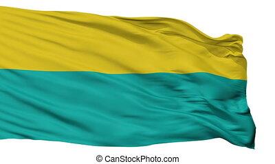 Isolated Narva city flag, Estonia - Narva flag, city of...
