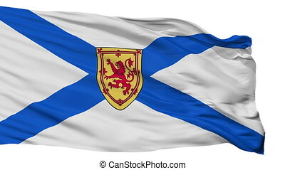 Isolated Nova Scotia city flag, Canada - Nova Scotia flag,...