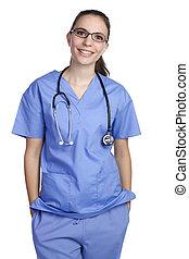 Isolated Nurse