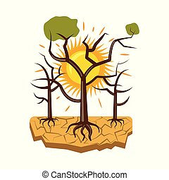 Isolated object of natural and disaster icon. Set of natural...