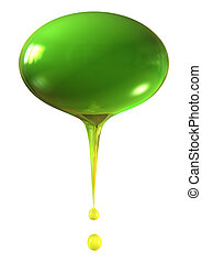 olive - isolated olive with