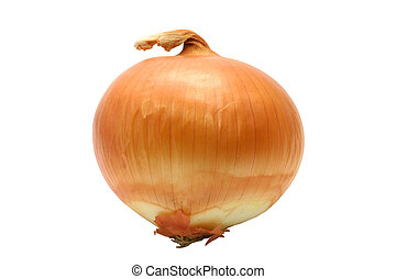 Isolated onion