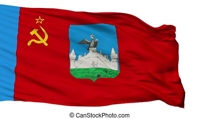 Isolated Oryol city flag, Russia - Oryol flag, city of...