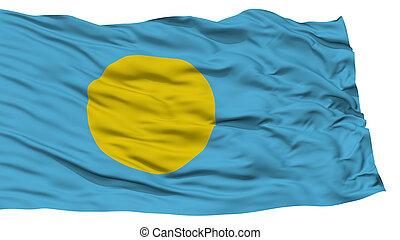 Isolated Palau Flag