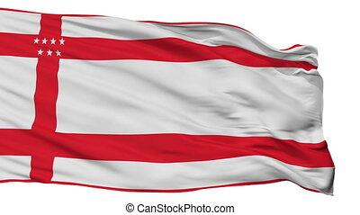 Isolated Palmares city flag, Costa Rica - Palmares flag,...