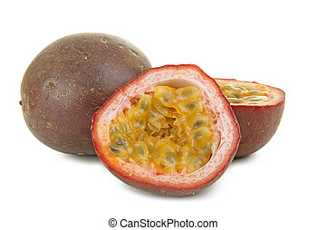 passion fruit - isolated passion fruit