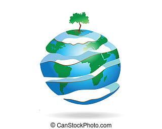 peeled earth
