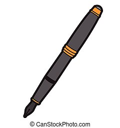 Isolated pen icon
