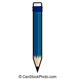 Isolated pencil icon