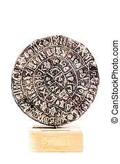 Isolated Phaistos Disc