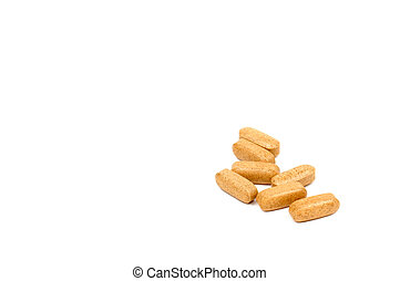 Isolated Photo of Vitamin C Vitamins