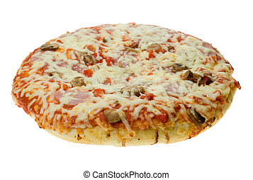 isolated pizza - pizza isolated on a white background