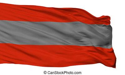 Isolated Poas city flag, Costa Rica - Poas flag, city of...