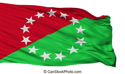 Isolated Provincia Chiriqui city flag, Panama - Provincia...