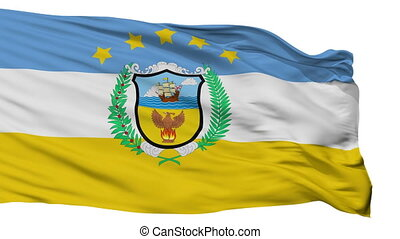 Isolated Provincia Colon city flag, Panama - Provincia Colon...