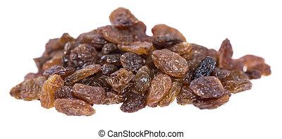 Isolated Raisins