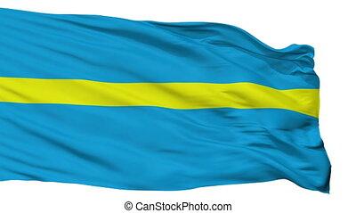 Isolated Rakvere city flag, Estonia - Rakvere flag, city of...