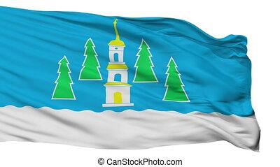 Isolated Ramenskoye city flag, Russia - Ramenskoye flag,...