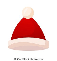 Isolated red hat icon