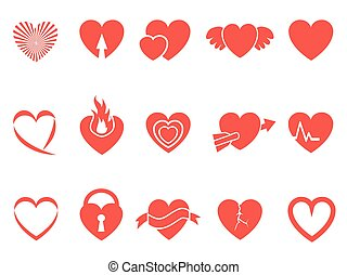 red heart icons