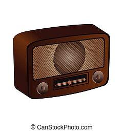 Isolated retro radio