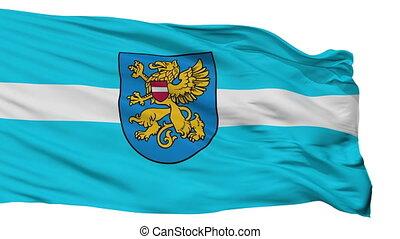 Isolated Rezekne city flag, Latvia - Rezekne flag, city of...