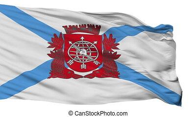 Isolated Rio de Janeiro city flag, Brasil - Rio de Janeiro...