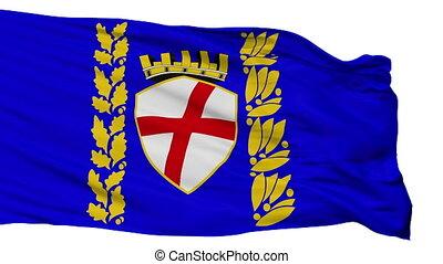 Isolated Rovinja city flag, Croatia - Rovinja flag, city of...