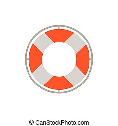 Isolated safe float icon vector design