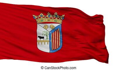 Isolated Salamanca city flag, Spain - Salamanca flag, city...