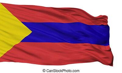 Isolated San Juan de Pasto city flag, Colombia - San Juan de...
