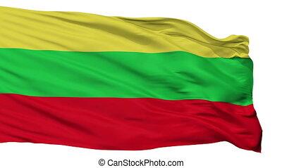 Isolated San Ramon city flag, Chile - San Ramon flag, city...
