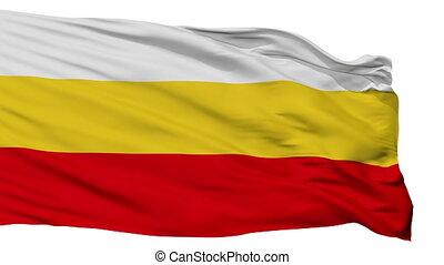 Isolated Santa Isabel city flag, Puerto Rico - Santa Isabel...