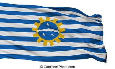 Isolated Sao Jose dos Campos city flag, Brasil - Sao Jose...