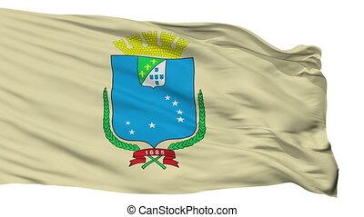 Isolated Sao Luis city flag, Brasil - Sao Luis flag, city of...