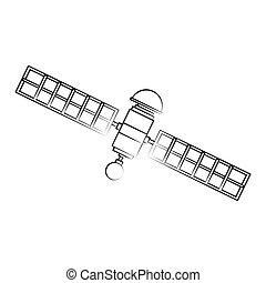 Isolated satellite design