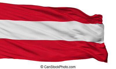 Isolated Savona city flag, Italy - Savona flag, city of...