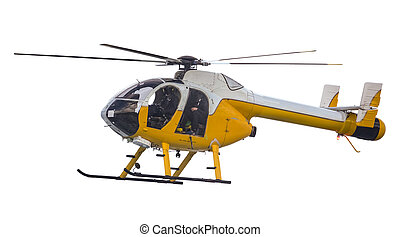 Isolated Search And Rescue Helicopter