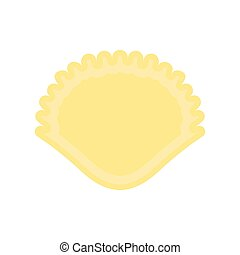 Isolated seashell icon