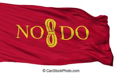 Isolated Sevilla city flag, Spain - Sevilla flag, city of...