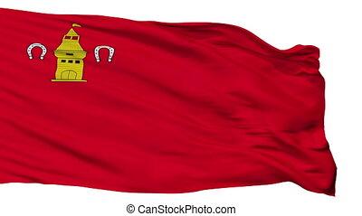 Isolated Shebekino city flag, Russia - Shebekino flag, city...